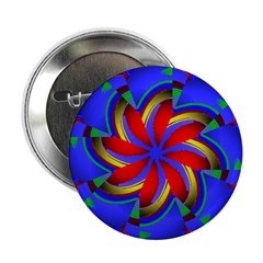 "Kaleidoscope 0003 2.25"" Button (10 pack)"