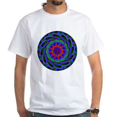 Kaleidoscope 0004 White T-Shirt