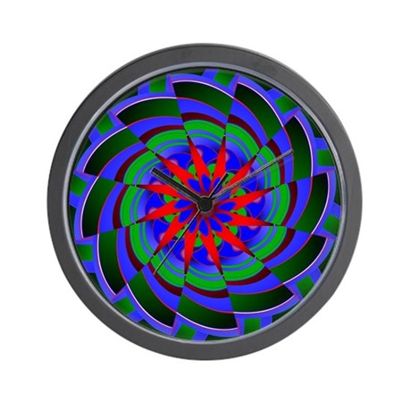 Kaleidoscope 0004 Wall Clock