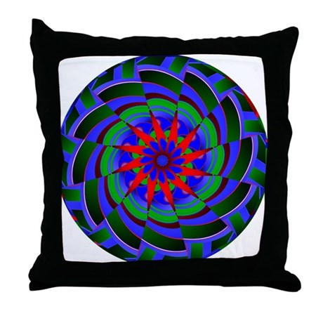 Kaleidoscope 0004 Throw Pillow