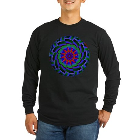 Kaleidoscope 0004 Long Sleeve Dark T-Shirt