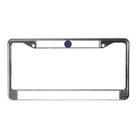 Kaleidoscope 0004 License Plate Frame