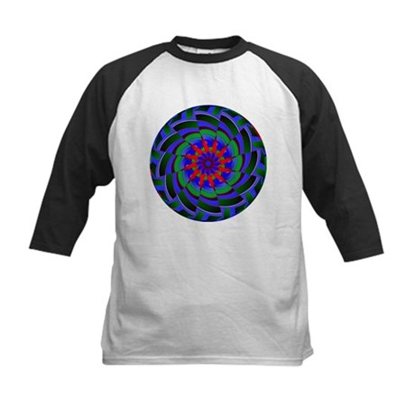 Kaleidoscope 0004 Kids Baseball Jersey