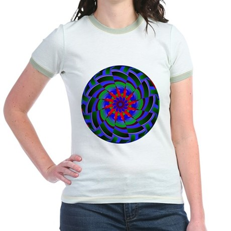 Kaleidoscope 0004 Jr. Ringer T-Shirt