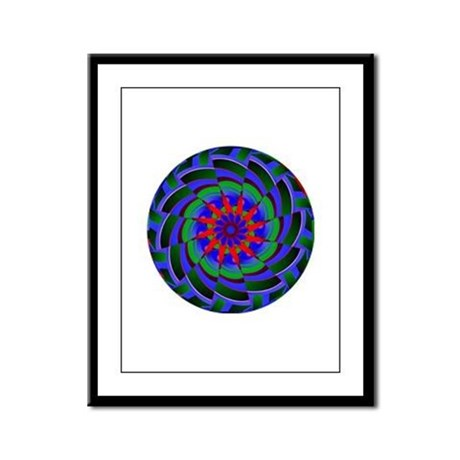 Kaleidoscope 0004 Framed Panel Print