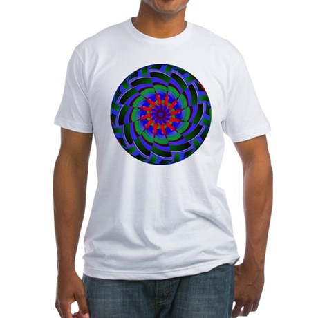 Kaleidoscope 0004 Fitted T-Shirt