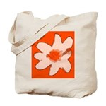 Flower Tote Bag (Orange)