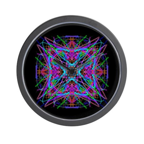 Kaleidoscope 005 Wall Clock