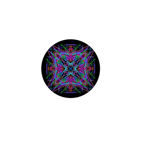 Kaleidoscope 005 Mini Button (10 pack)