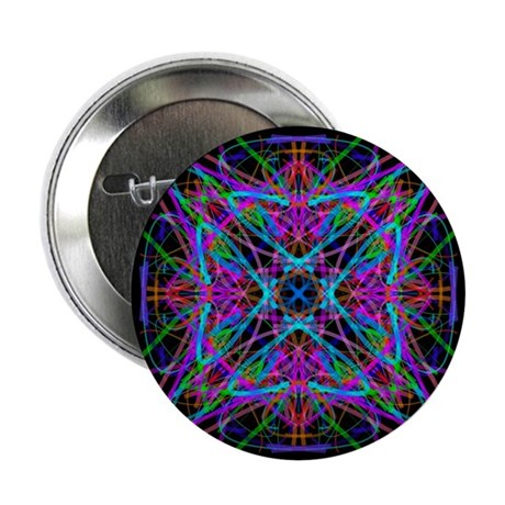 "Kaleidoscope 005 2.25"" Button (10 pack)"