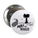 "Nuke the Whales 2.25"" Button (10 pack)"