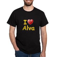 I Love Alva (L) T-Shirt