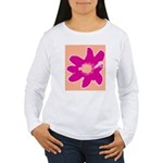 Pink Flower Women's Long Sleeve T-Shirt