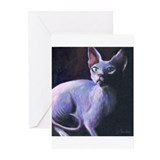 Sphynx Cat #13  Greeting Cards (Pk of 10)