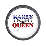 KARLY for queen Wall Clock