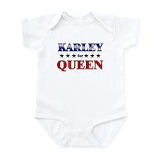KARLEY for queen Infant Bodysuit