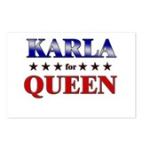 KARLA for queen Postcards (Package of 8)