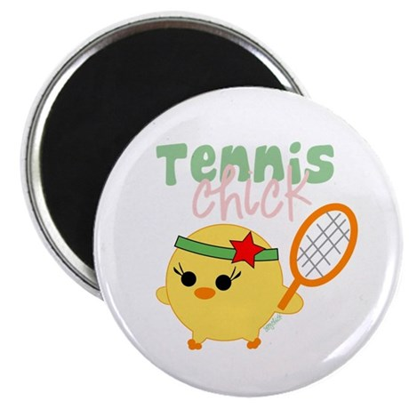 "Tennis Chick 2.25"" Magnet (10 pack)"