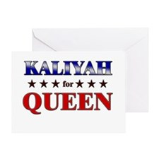 KALIYAH for queen Greeting Card