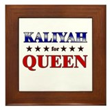 KALIYAH for queen Framed Tile