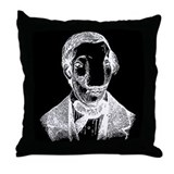 Big Nose Throw Pillow