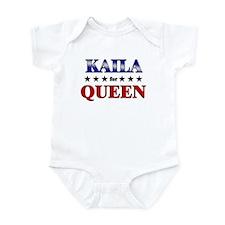 KAILA for queen Infant Bodysuit