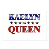 KAELYN for queen Postcards (Package of 8)