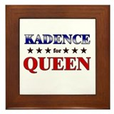 KADENCE for queen Framed Tile