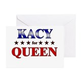 KACY for queen Greeting Cards (Pk of 10)