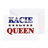 KACIE for queen Greeting Cards (Pk of 20)