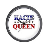 KACIE for queen Wall Clock