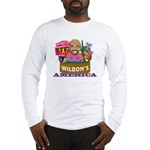 Wilbon's America (FRONT ONLY) Long Sleeve T-Shirt