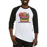 Wilbon's America (FRONT ONLY) Baseball Jersey