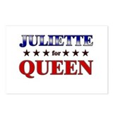 JULIETTE for queen Postcards (Package of 8)
