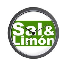 Sal & Limon Wall Clock
