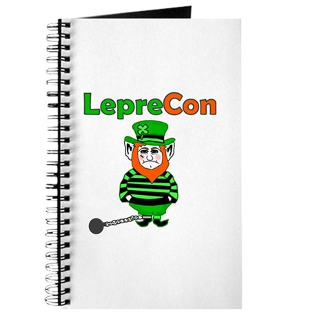 Funny Leprechaun Convict Journal