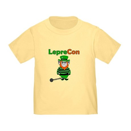 Funny Leprechaun Convict Toddler T-Shirt
