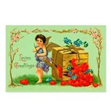 Box of Love Vintage Valentine Postcards (8 pack)