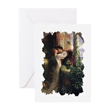 Romeo and Juliet (Tattered Border - 1 Blank Card)