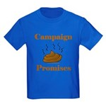 Campaign Promises Kids Dark T-Shirt