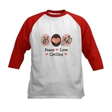 Bicycle Peace Love Cycling Tee