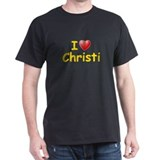 I Love Christi (L) T-Shirt