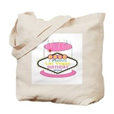 Las Vegas Birthday Cake Tote Bag