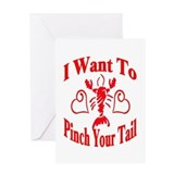 Alligator Valentine Greeting Card