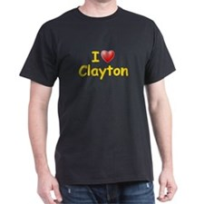 I Love Clayton (L) T-Shirt