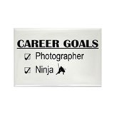 Photographer Career Goals Rectangle Magnet
