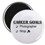 Photographer Career Goals Magnet