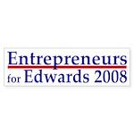 Entrepreneurs for Edwards bumper sticker