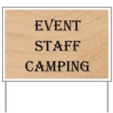 Event Site Staff Sign