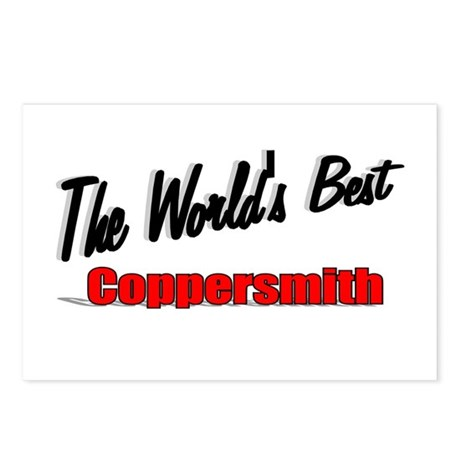 """The World's Best Coppersmith"" Postcards (Package"